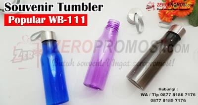Souvenir Bottle Popular WB-111, Tumbler & Botol Plastik POPULAR WB – 111 ini memiliki beragam kelebihan.