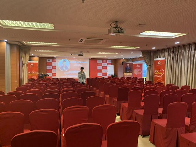 """DVB tổ chức chương trình đào tạo """" kinh doanh spa chuyên nghiệp"""" tại Hội trường Vplace"""