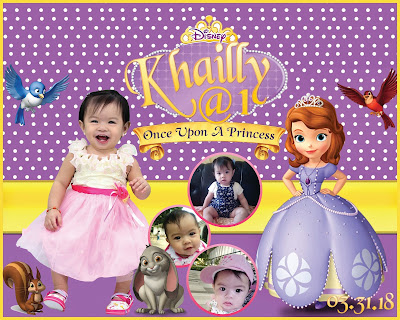Sofia the First Tarpaulin Design