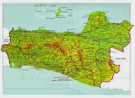 Peta Daftar Wisata Di Jawa Tengah