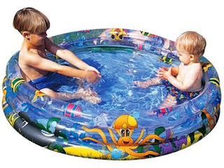 BEST PRICE & QUALITY Paddling Pools £6.30 Bestway Ocean Life Pool 122X25 cm For kids