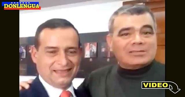 Padrino López celebra con vino los últimos acontecimientos de Apure