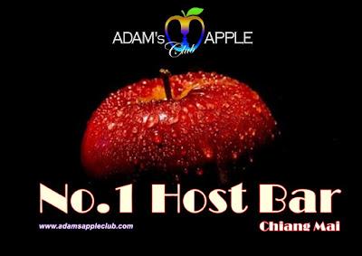 No. 1 Host Bar Chiang Mai Adams Apple Club Thailand most well-reputed Gay Bar Ladyboy Cabaret Nightclub