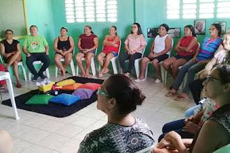 Animadores comunitários participam de formação bimestral na unidade colaboradora do Ceacri em Itans