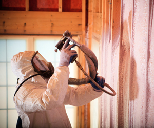 Commercial Use for Spray Foam Insulation at ABS Insulating