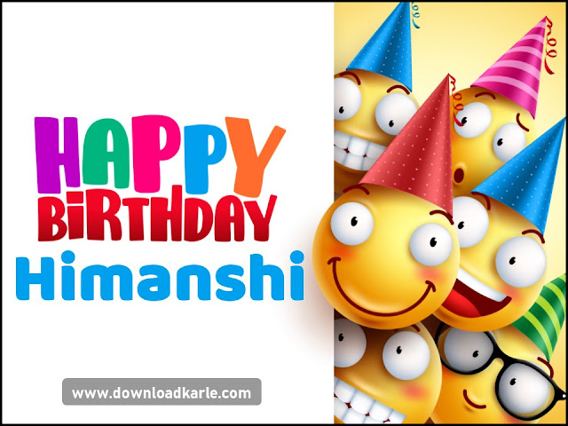 Happy Birthday Himanshi Cake Images and Wallpaper