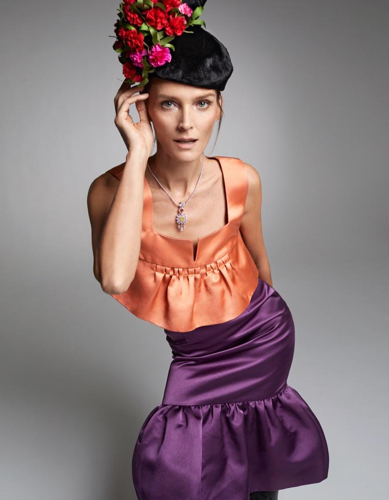 Carmen Kass - Harper's Bazaar Spain's 10th Anniversary issue