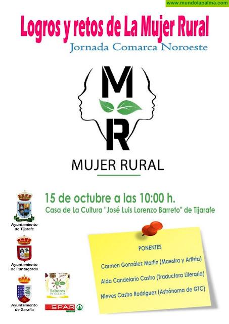 """Tijarafe acoge la jornada comarcal """"Logros y retos de la mujer rural"""""""