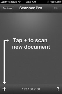 Scanner Pro (scan documents, upload to Dropbox and Evernote)