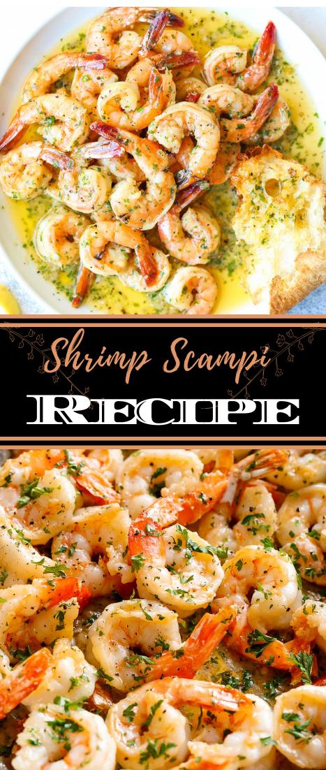 Shrimp Scampi Recipe #dinnerrecipe #food #amazingrecipe #easyrecipe