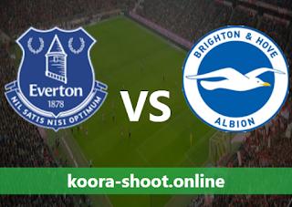 تفاصيل مباراة برايتون وإيفرتون اليوم بتاريخ 12/04/2021
