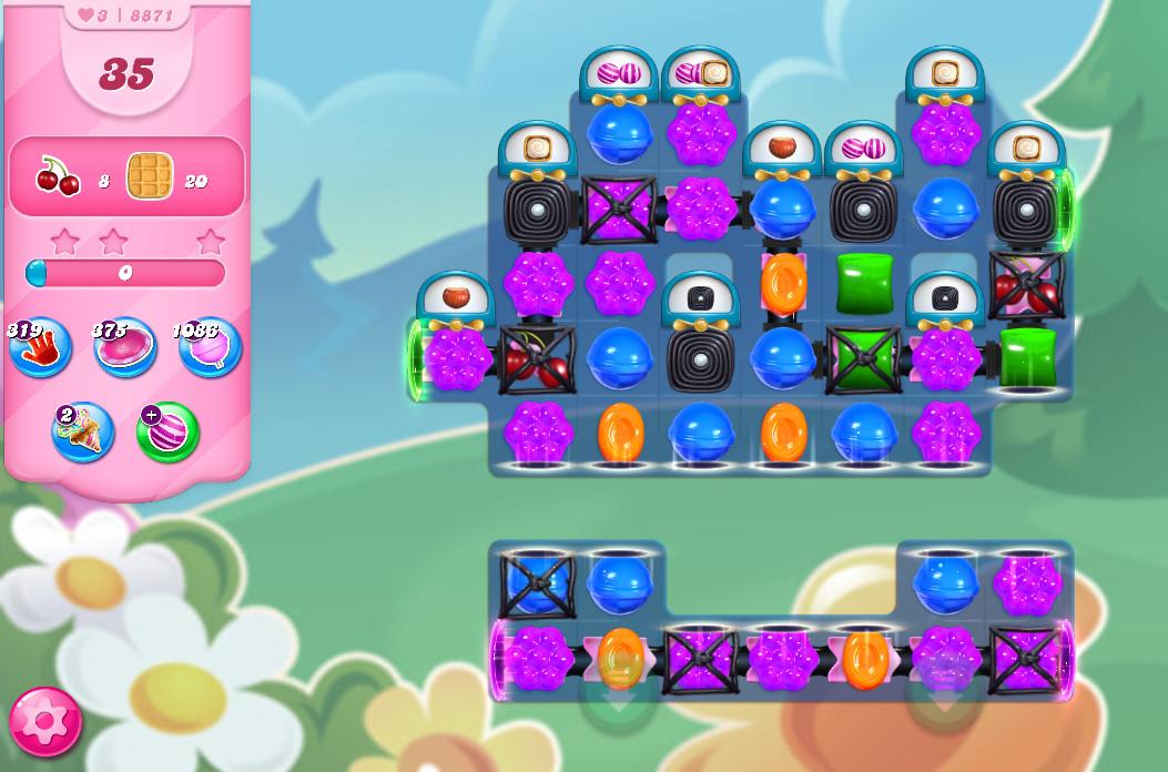 Candy Crush Saga level 8871