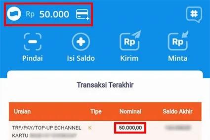 cara transfer dana ke bank