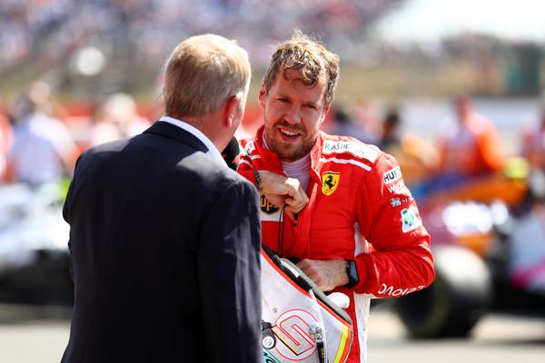 Martin Brundle about Sebastian Vettel