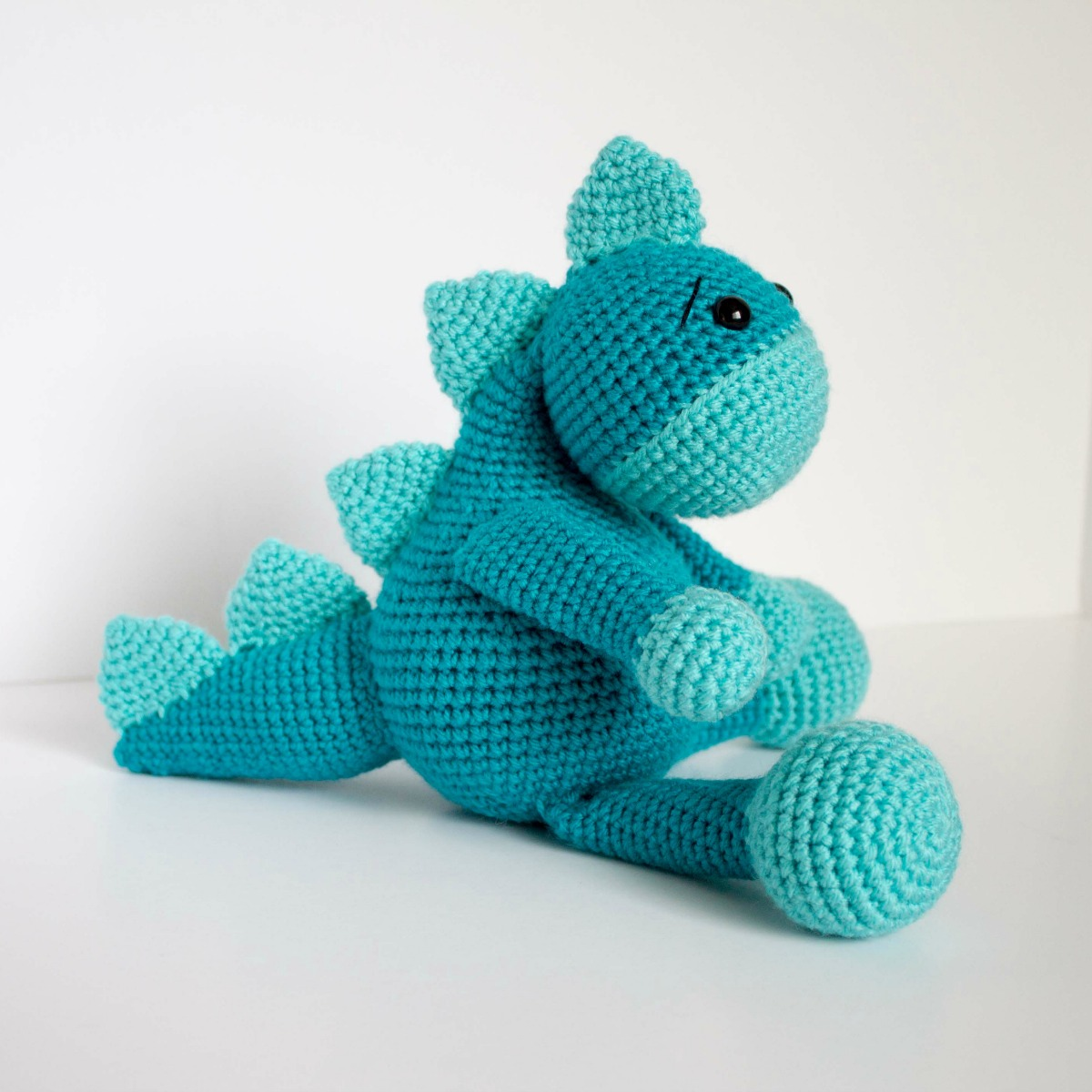 15 Free Crochet Dinosaur Patterns – A Cute Toy - A More Crafty Life | 1200x1200