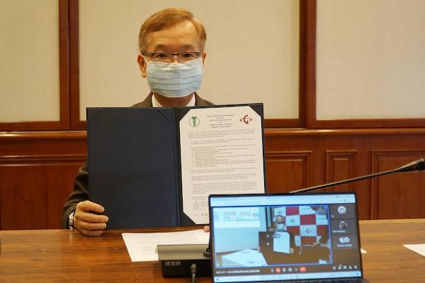 接軌國際不因疫情中斷 大葉大學與中國學園大學視訊簽約