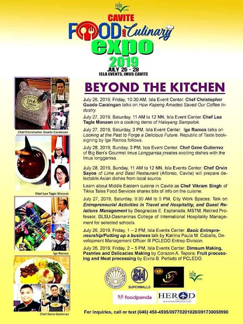 cavite food and culinary expo