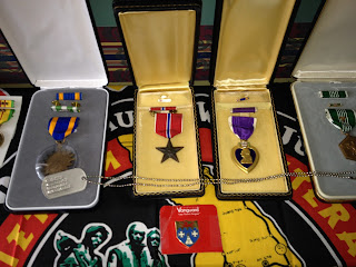 medals awarded to a veteran during Vietnam war