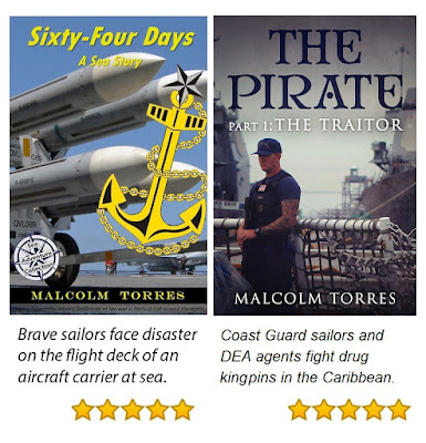 Malcolm Torres is the author of original sea stories and nautical tales