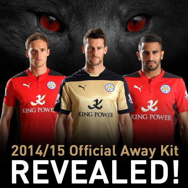 eebba22be43 Puma created a stylish new Leicester City 14-15 Home kit, which is already  available to buy, while the Away and Third Shirts will be from August 21.