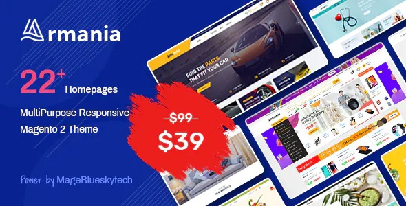 Best Multipurpose Responsive Magento 2 Theme