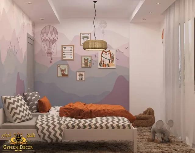 غرف نوم مودرن اطفال 2022