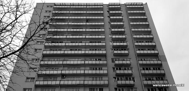 Warszawa Warsaw blokowiska blok bloki  blokowisko architektura miasto Mokotów
