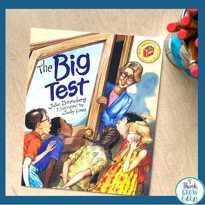 the big test picture book about testing days for children
