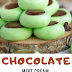 Chocolate Mint Cream Cheese Buttons Yummy
