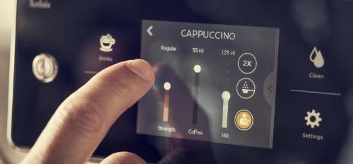 Instelingen capuccino volautomatische koffiemachine Saeco