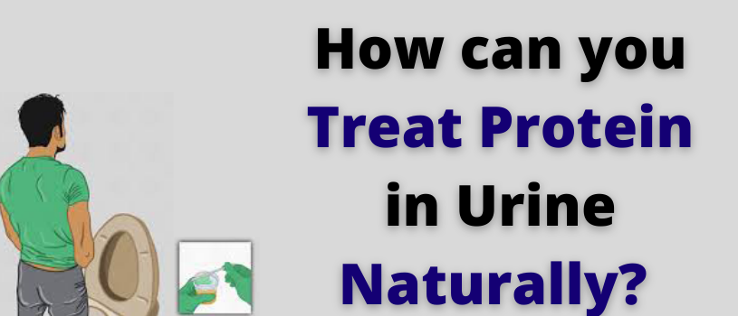 How can you treat protein in urine naturally?