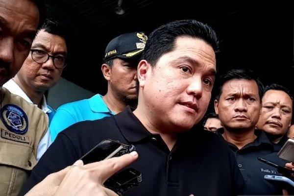 Erick Thohir Tuding Balik Pihak yang Kaitkan Jiwasraya dengan Istana
