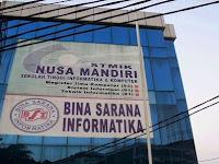 PENDAFTARAN MAHASISWA BARU (STMIK NUSA MANDIRI) 2020-2021