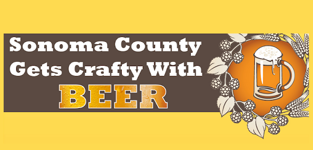 Sonoma-County-Gets-Crafty-With-Beer #Infographic