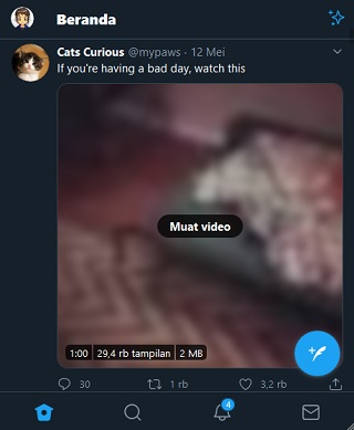 Twitter Tidak Bisa Memuat Gambar Dan Video