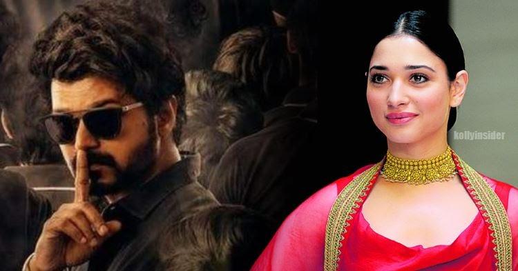 Thalapathy 65: Tamannaah to pair Vijay