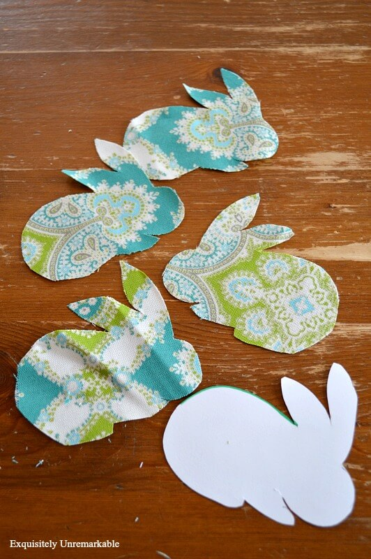 Easter Bunny Garland Craft