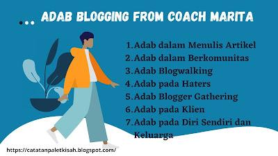 Adab Ngeblog from Coach Marita