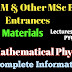 IIT JAM, DU, BHU, JNU Mathematical Physics Video Lectures and Practice Questions