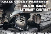 ARIEL CHART presents IDES OF MARCH LITERARY CONTEST 15 MARCH 2020