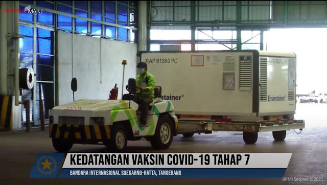16 Juta Dosis Vaksin Sinovac Kembali Tiba di Tanah Air