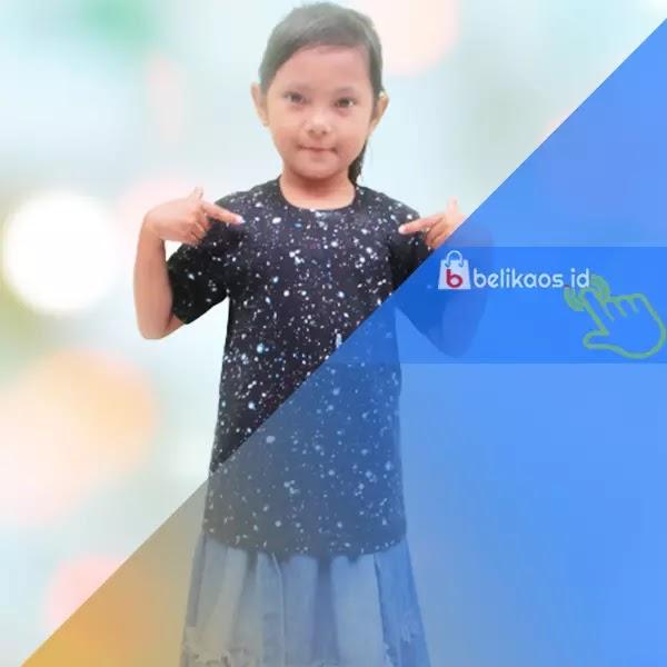 Kaos Anak Motif Galaxy Keren Beli Online