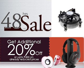Shopclues 48 hrs Deal on Computer Accessories: Get Additional 20% Discount on Deal Price