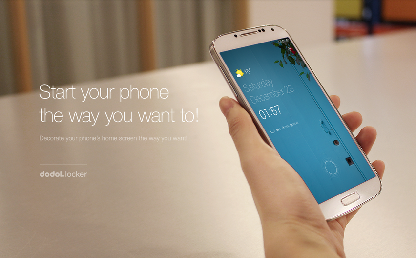 Aplikasi Lock Screen Android Terapik Dengan Puluhan Tema - Dodol Locker