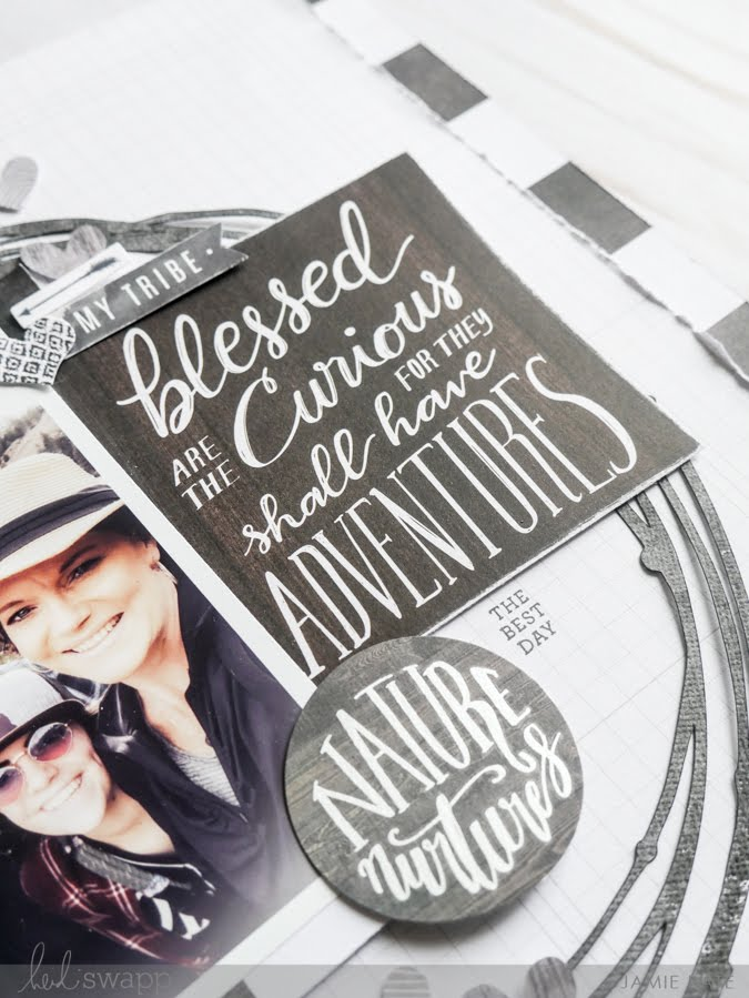 new Heidi Swapp Wolf Pack Paper Line layout by Jamie Pate | @jamiepate for @heidiswapp