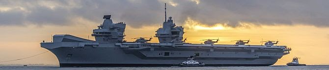 UK's Role As A Global Power: Hms Queen Elizabeth Carrier Battle Group Spearheads The Indo-Pacific Policies