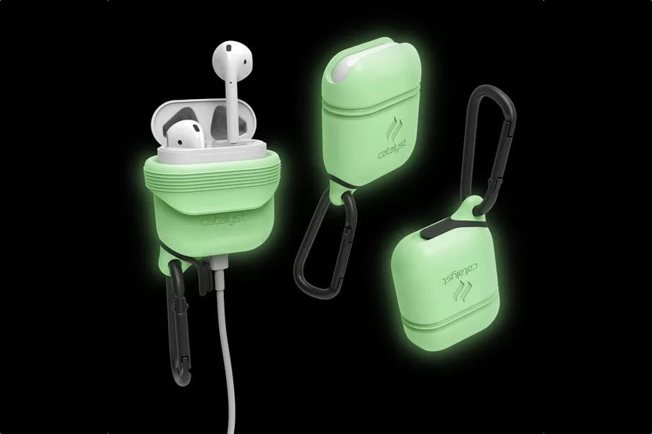 """waterproof AirPods case is great for nighttime deep sea diving and literally nothing else.Catalyst introduce Waterproof AirPods for deep sea diving at night.  A company named """"Catalyst"""" is introducing a bunch of AirPods cases. They are cases for cases called Catalyst Case for AirPods. Its really a Creative naming, I know, but at-least you will never forget what they are designed to do. Waterproof AirPods 2017 launch for deep sea diving at night, Waterproof AirPods news."""