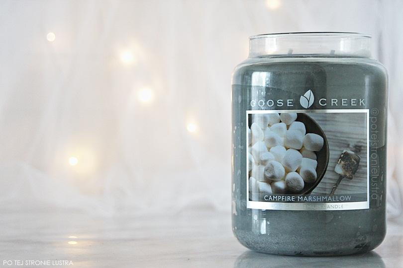 świeca goose creek campfire marshmallow