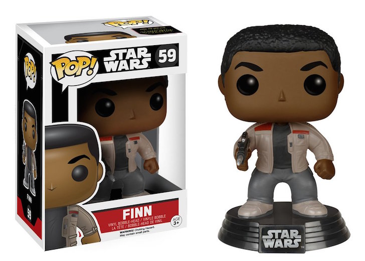Finn The Force Awakens Star Wars Pop! Vinyl #59