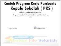 Contoh Program Kerja Pembantu Kepala Sekolah ( PKS ) - Berkas File Sekolah